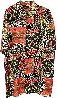 Zara Men Chain Print Shirt with a Satin Finish 7351/310