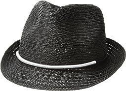 San Diego Hat Company - UBF1106 Fedora w/ Metallic Bar Trim