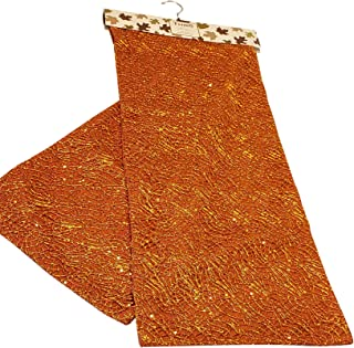 Thro by Marlo Lorenz Autumn Table Runner (Burnt Orange All Over Lace) 14