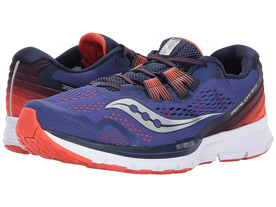 Saucony Zealot ISO 3 (Blue/Orange) Men