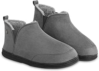 Dunlop Women's Slippers, Ladies Boot Slippers with Memory Foam Insoles