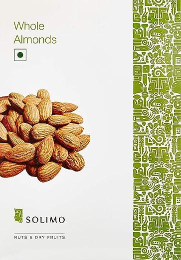 Amazon Brand - Solimo Almonds, 1kg 1