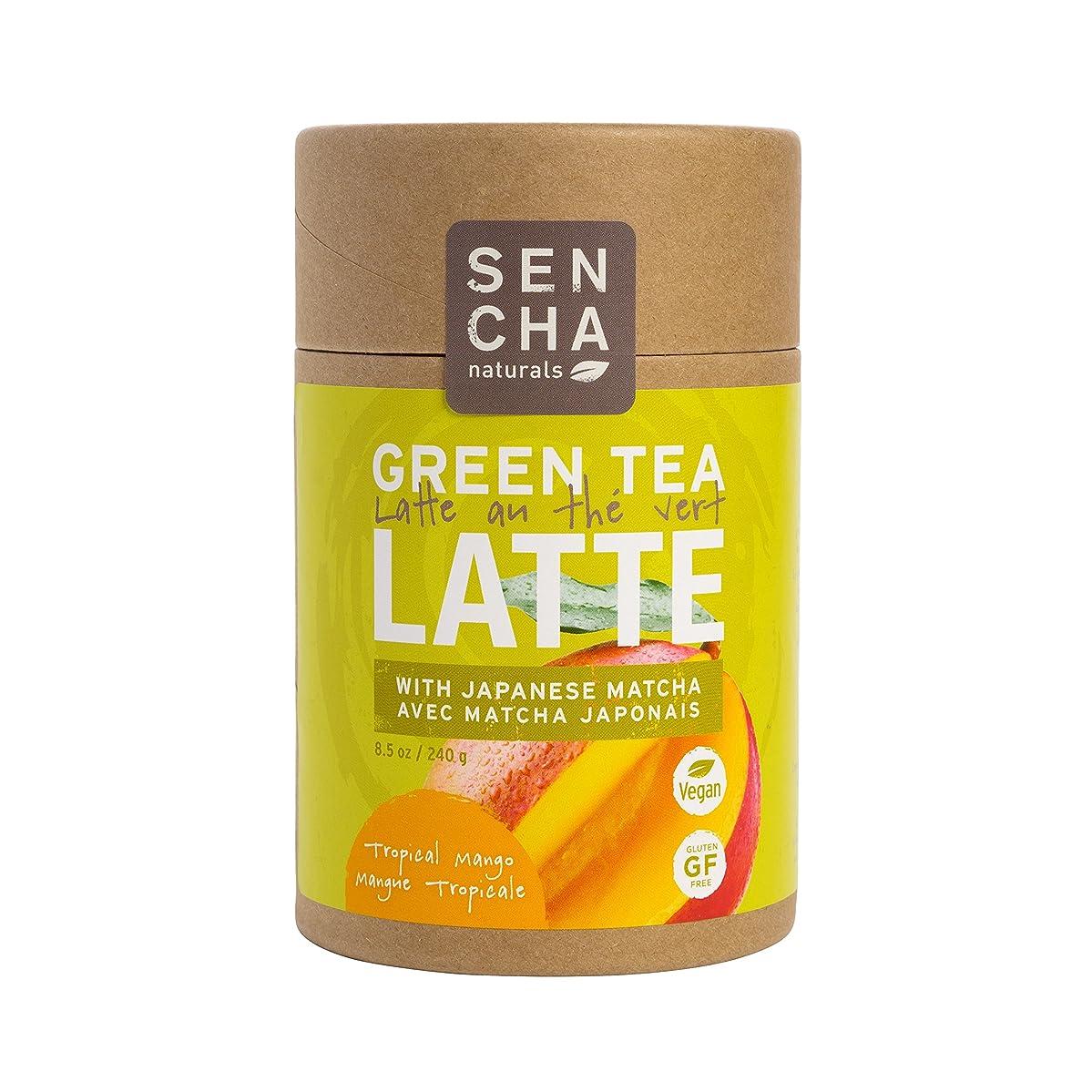 Sencha Naturals Matcha Latte, Tropical Mango, 8.5 Ounce