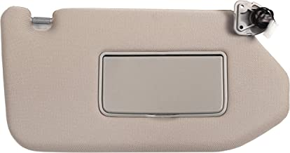 Ezzy Auto Tan Right Passenger Side Sun Visor fit for Nissan Pathfinder Infiniti QX60 JX35 with Sunroof