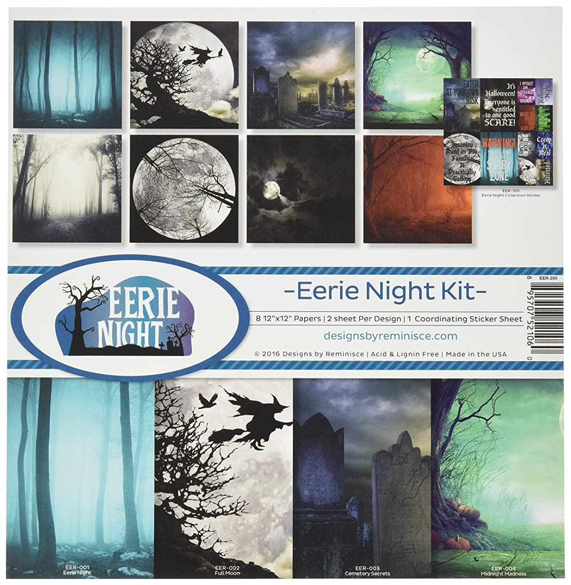 Reminisce Eerie Night Collection Kit