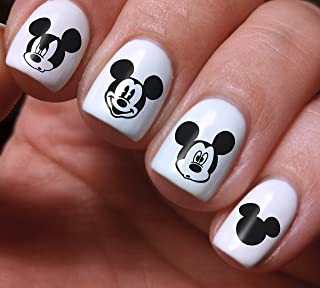 mickey mouse design on nails