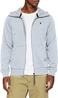 G-Star RAW Men's Strett Dc HDD Zip Thru Sw L/S Hoodies & Sweatshirts