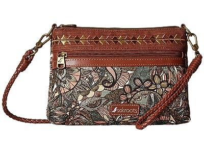 Sakroots Artist Circle Campus Mini (Sienna Spirit Desert) Cross Body Handbags