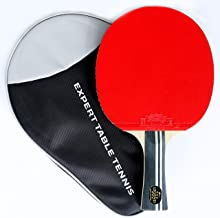 Palio Legend 3.0 Table Tennis Racket & Case - ITTF Approved - Flared - Advanced Ping Pong, Bat, Paddle