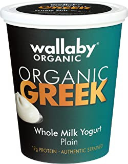 Wallaby Organic, Whole Milk Greek Yogurt, Plain, 32 oz
