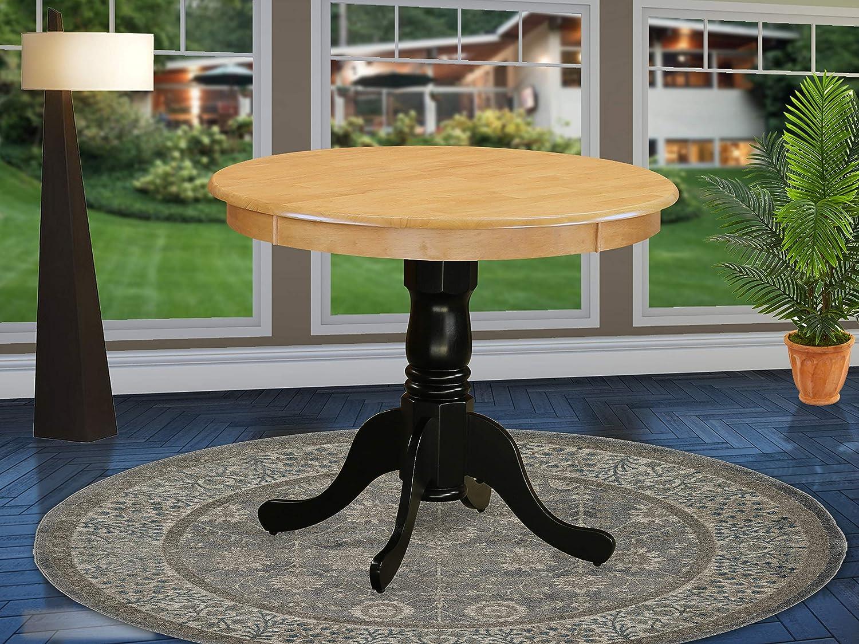 Over item handling East West Furniture ANT-OBK-TP Antique Table 36