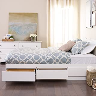 Best bed frame with drawers white Reviews