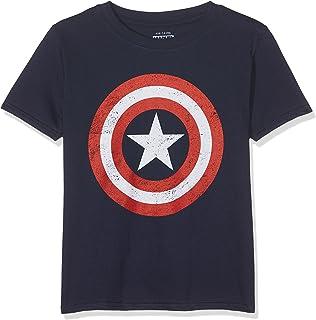 Marvel Camiseta Manga Corta Captain America Shield