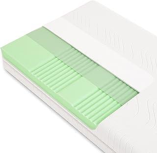 Schlummerparadies® hochwertige Matratze 7-Zonen HR-Kaltschaummatratze - Made in Germany - ca. 19cm Gesamthöhe, RG40, geprü...