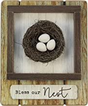 "Young's 11"" x 2.25"" x 13.25"" Inc Wood Bless Our Nest Sign"