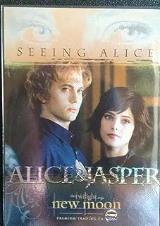 Twilight New Moon Card Seeing Alice #Se-1 - Alice & Jasper