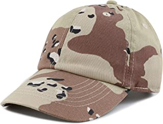 THE HAT DEPOT Kids Washed Low Profile Cotton and Denim Plain Baseball Cap  Hat 37eb97634a72