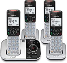 $79 » VTECH VS112-4 DECT 6.0 Bluetooth 4 Handset Cordless Phone for Home with Answering Machine, Call Blocking, Caller ID, Inter...