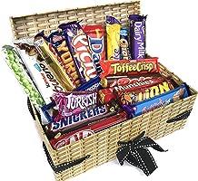 Mega Chocolate Lovers Hamper Gift Box - Chocolate Gift Set - 18 Full Size Chocolate Bars Snack Pack