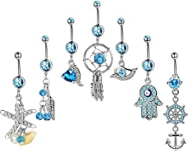 Best tribal belly ring Reviews