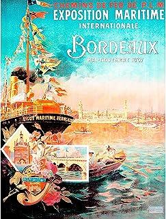 Art Mural Bateaux Prime Impression sur Toile Campagne 30x20 cm weewado Boyan Dimitrov
