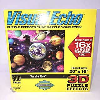 """VisualEcho 3-D Puzzle Effects """"You Are Here"""""""