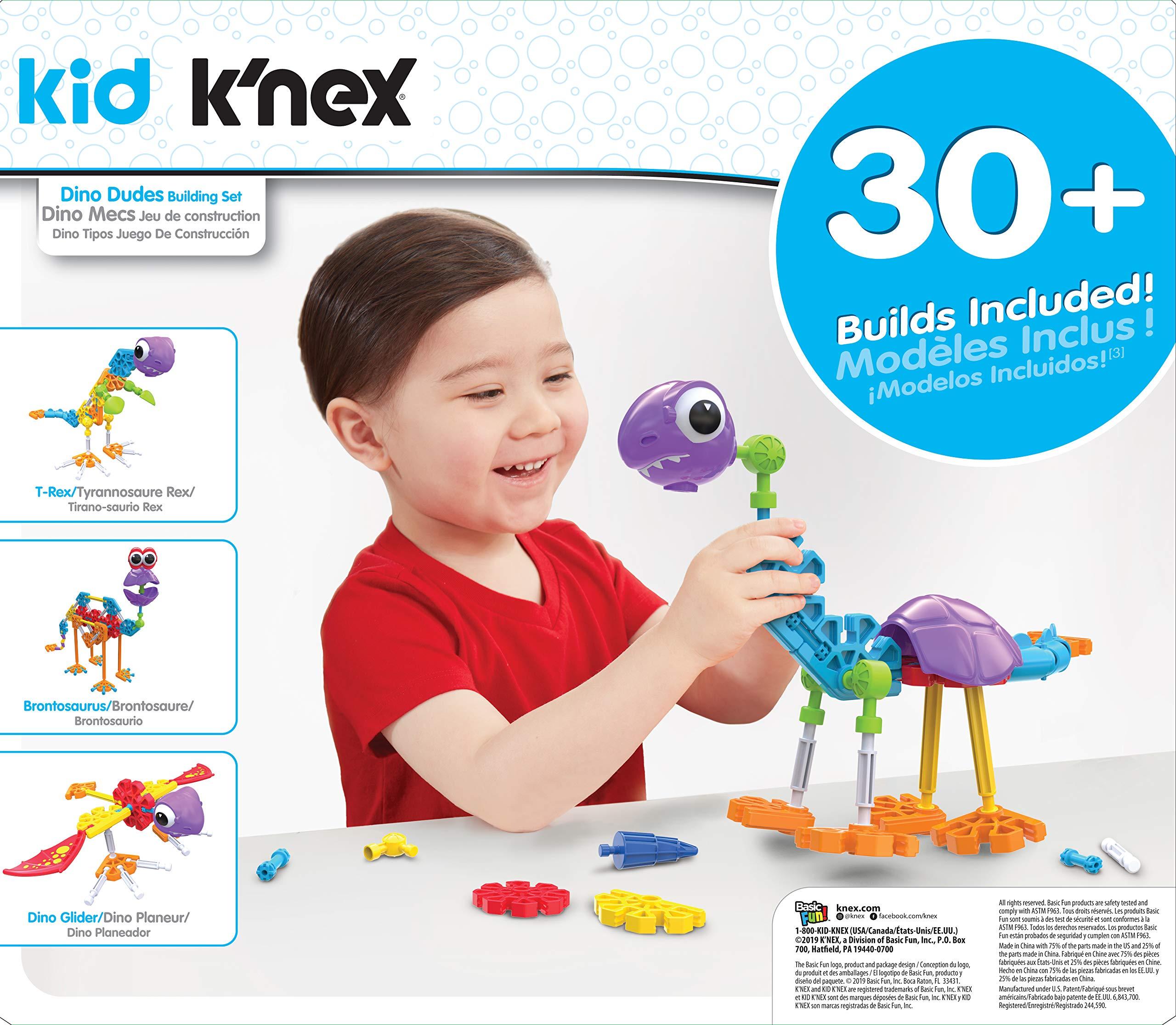 NEW KID K /'NEX DINO DUDES Set di costruzione