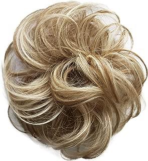 PRETTYSHOP 100% pelo real, cabello humano, coletero, postizo, hairpiece, concentración de cabello