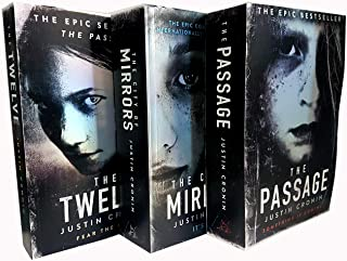 Justin Cronin The Passage Trilogy 3 Books Collection Set (The Passage, The Twelve, The City of Mirrors)