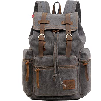 Fashion Outdoor Zipper Drawstring Bag Semi-Auto AR-15 Grey Printed Bundle Backpack Unisex