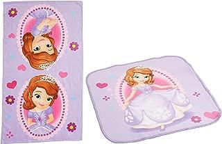 Disney Junior Sofia The First 2-Piece Bath Towel and Washcloth Set