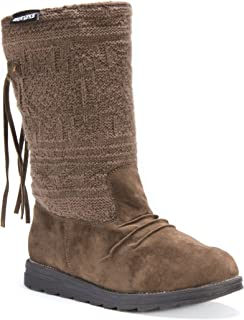 Muk Luks Women's Barbara Knit Winter Boot