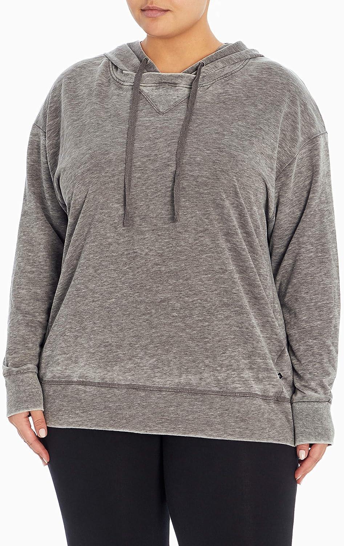 Marika Plus Size Helen Long Sleeve Pullover Hoodie