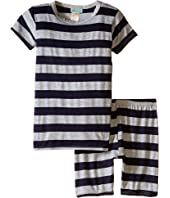 BedHead Kids - Short Sleeve Short Bottom Pajama Set (Toddler/Little Kids)