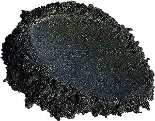 BLACK DIAMOND PIGMENTS 42g/1.5oz Black Diamond Mica Powder Pigment (Epoxy,Resin,Soap,Plastidip) 1.5oz by Weight