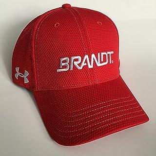 c0304707a283f NEW Justin Allgaier Dale EARNHARDT JR UNDER ARMOUR NASCAR PIT CREW Hat Cap  Brandt Agriculture