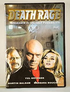 Death Rage - DVD - Yul Brynner, Barbara Bouchet, Martin Balsam - 1976 - Action Genre - 5.1 DTS - Collectible