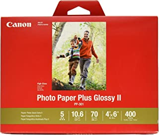 CanonInk Photo Paper Plus Glossy II 4