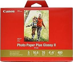 Canon PP-301 - Papel fotográfico (Brillo, 400 hojas