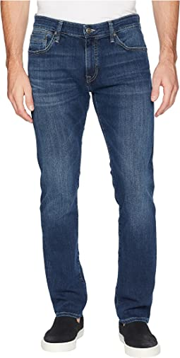 Marcus Regular Rise Slim Straight Leg in Dark Blue Williamsburg