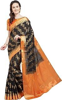 Viva N Diva Indian Sarees for Women`s Wedding Sari Festive Gift Wear Banarasi Art Silk Saree