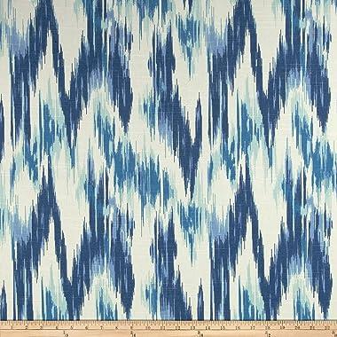 Home Accent Fabrics Home Accents Casbah Ikat Slub, Yard, Baltic Blue