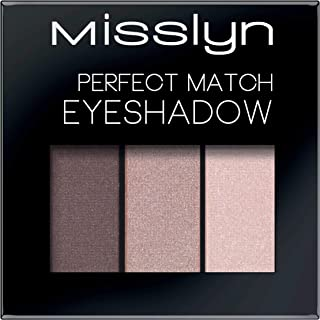 Misslyn Perfect Match Eyeshadow No.53 Brown and Peach