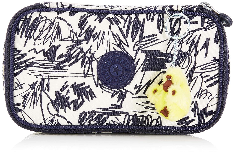 Kipling 50 PENS Pencil Cases, 21 cm, 1 liters, Multicolour (Scribble Fun Bl)