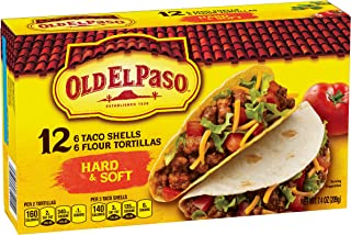 Old El Paso Hard and Soft Taco Shells 12 ct 7.4 oz Box