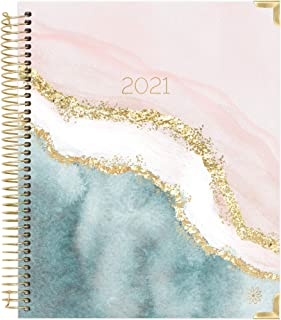 bloom daily planners 2021 Hardcover Calendar Year Goal & Vision Planner (January 2021 - December 2021) - Monthly/Weekly Co...
