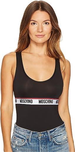 Moschino - Basic Microfiber Moschino Banding Bodysuit