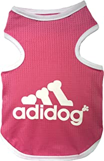 Rdc Pet Adidog Dog T Shirt, Dog Shirts, Dog Clothes Summer Tank Top Vest from S to 9X-Large for Small Dog, Medium Dog, Large Dog