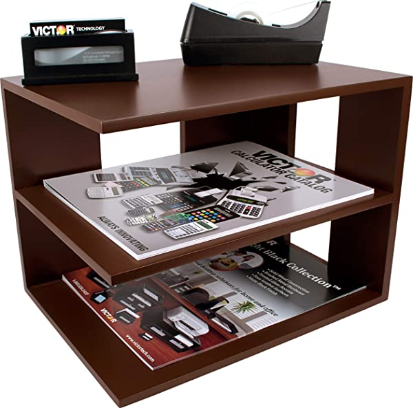Victor Wood Corner Shelf A1120 Autumn Brown Color Is Lighter And Redder Than Mocha Brown