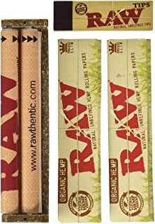 Raw King Size Organic Deal – King Size Slim Organic Rolling Papers, 110mm Rolling..